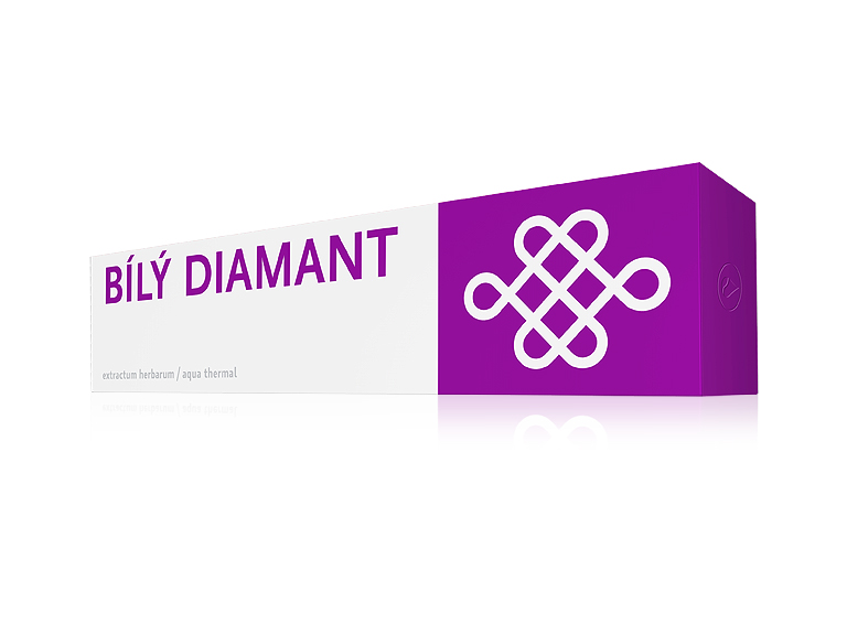 Biely diamant, zubná pasta, energy