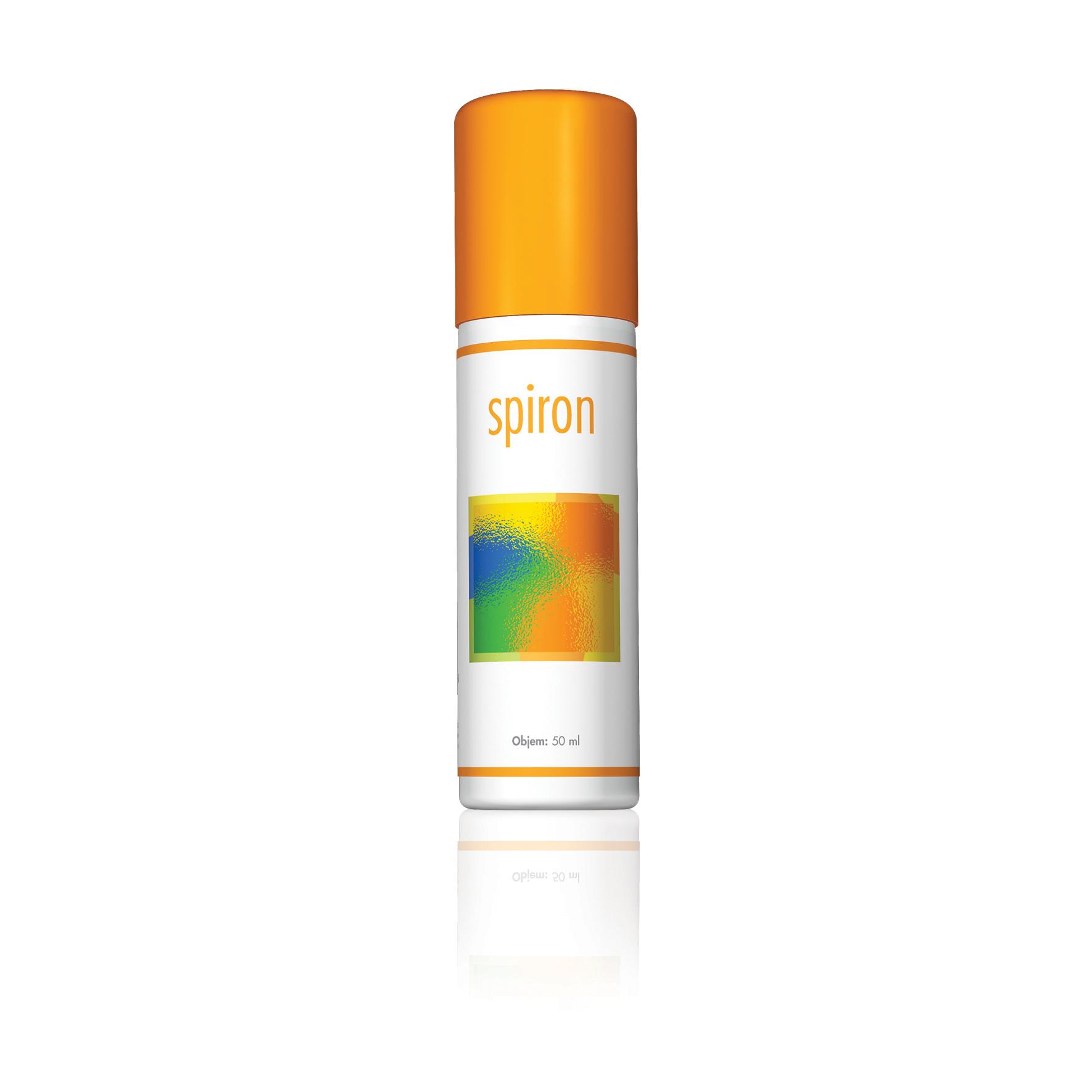 Spiron, sprej, energy, antiseptické produkty