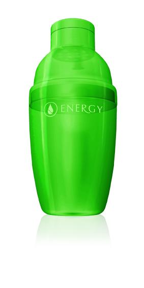 shaker, energy, zelené potraviny